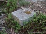 Rectangular granite rock