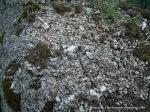 Weathered granite minerals.